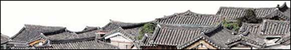 Bukchon tiled roofs